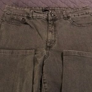 Nine West Gray Bootcut Jeans